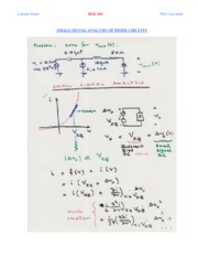 Small Signal Analysis-Diode Applications-2