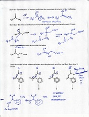 CHEM 3320H Lecture Organic mechanisms in biochemistry solved questions