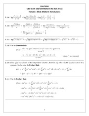 Math104T1TestPackageSolutionsFall2014_updated2
