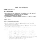 Test1_ReviewSheet