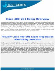 Updated 400-201 Cisco Certified Internetwork Expert Exam Dumps