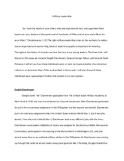 Final Essay-Military Leadership.docx