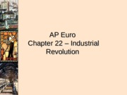 AP_Euro_-_Chapter_22_Industrial_Revolution