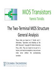 2.3 The Two-Terminal MOS Structure – General Analysis.pdf