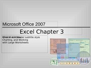 ExcelChapter3