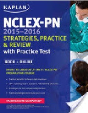 Exam   NCLEX questions on   docx at Seton Hall University   StudyBlue Buy Test banks and Solution Manuals