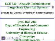 ECE530 Fall 2014 Lecture Slides 11