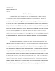 Grisafi, Essay 1