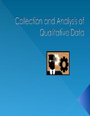 Collection and Analysis of Qualitative Data-1.ppt