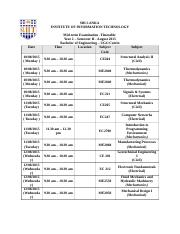 2nd year II Sem Tentative_mid_exam_timetable (2015)