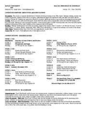 Socki - HAA 130 Syllabus - DePaul - Fall 2010 - Mon PM - revised 9.10