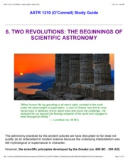 ASTR 1210, O'CONNELL. Study Guide 6 [Fall 2012]pdf