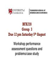 Workshop 2 BFA728 participation responses questions and problems Group 3 .pdf
