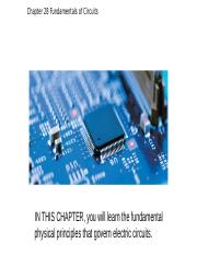 Chapter 28 Fundamentals of Circuits.pptx