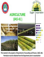 Biological Assets Rivised