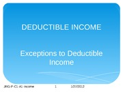 Chapter 1 Powerpoint Project Income