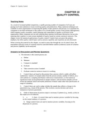 EA435_CLASS NOTES_Ch10.Quality Control (CHAPTER REVIEW)