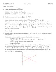 Exam 4 Solutions Sp10 (1)