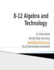 8-12 Algebra and Technology-2.pptx