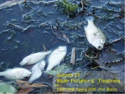 S.13 Water Pollution Sp2015
