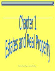 Chapter 1 Real Property.ppt