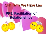 Ch1 PP8 Facilitating Relationships (Gentry) (2.11.08)
