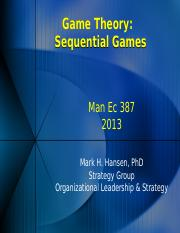 Game Theory Sequential Games 13.pptx