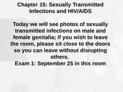 Bb chapter 15 stis and hiv final Fall 14