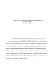 D.Roshwald_Module_01_Written_Assignment_101213_-_Critical_Thinking