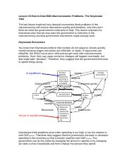 Lesson 16 How to Deal With Macroeconomic Problems The Keynesian View.docx