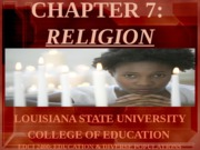 CHAPTER7 RELIGION