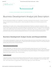 Business Development Analyst Job Description - JobHero.pdf