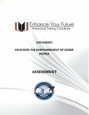 8. CHCAGE001 FACILITATE THE EMPOWERMENT OF OLDER PEOPLE.docx