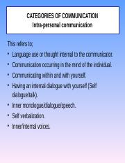 Categories of Communication[1] (1)