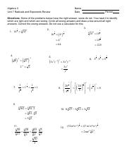 U7 A.1 Radicals and exponents rev.pdf