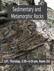 Geology 121_Lab4_Sedimentary and Metamorphic_Student Version