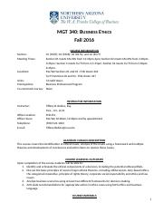 Fall 2016 MGT 340 Syllabus.docx