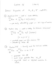 ENGR 280 Radioactive Decay - Parameters Notes
