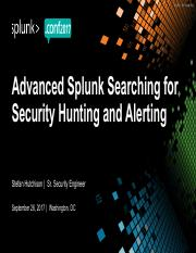 Splunk Bootcamp - Search CheatS - Splunk_Inc pdf - Search CheatSheet