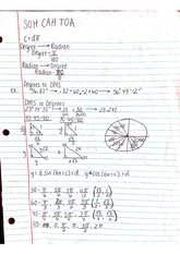 Degrees and angles notes