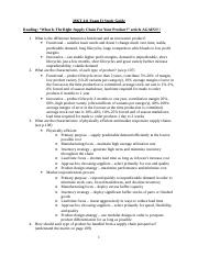 Mkt 411 Exam 2 study guide