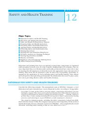 121 Ch12 syl Safety and Health