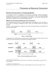 02 Processes as Resource Consumers
