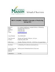 MKT 301.004 Principles of Marketing Spring 2016_Updated_01282016