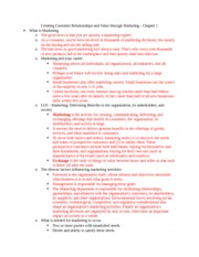 HRMT 1010 Chapter 1 Notes