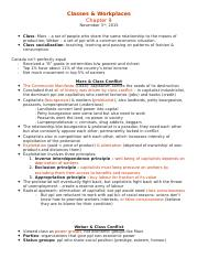 SP notes - ch. 9, class and workplace.docx