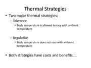 Thermal+Physiology+#2+