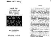 essay fear trembling Suggested essay topics and study questions for soren kierkegaard's fear and trembling perfect for students who have to write fear and trembling essays.