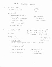 Phys 191 Uncertainty Solution Assignment