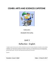Bell_Unit 3 Reflection - English.docx
